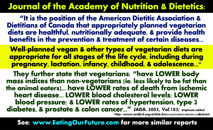 Why How Vegetarian Vegan Diet Benefits Diets is are Healthy Healthier Healthiest Best Wrong Right Health Science Study Reports Lower Risks Incidence Rates Cancer Heart Disease Diabetes Obesity Chronic Degenerative Diseases Cowspiracy Facts Debunked