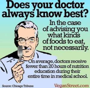 vegan street meme doctors nutrition education